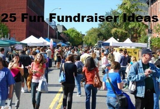 25 Fun Fundraisers Ideas