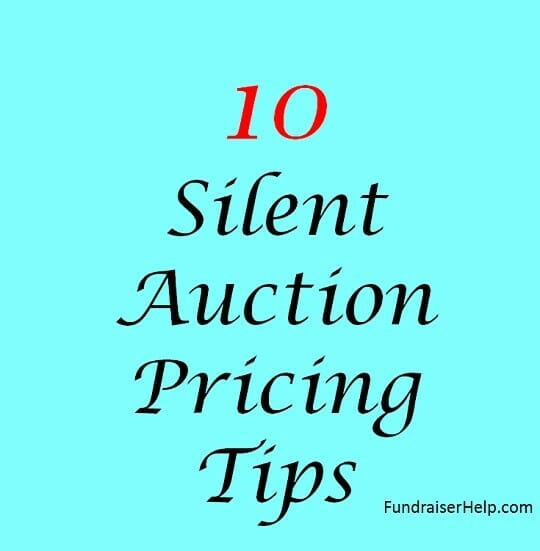 Silent Auction Pricing Tips