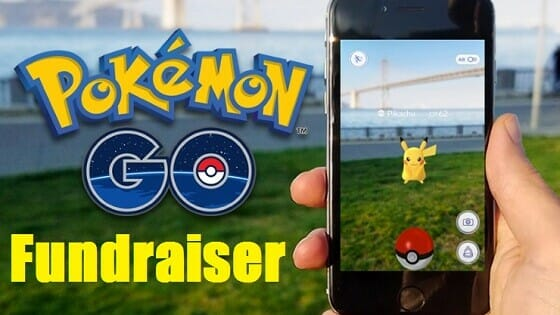 Pokemon Go Fundraiser | www.Fundraiserhelp.com